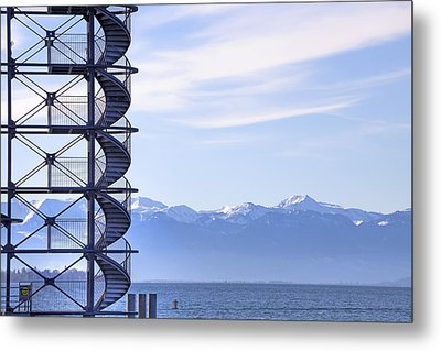 Lake Constance Friedrichshafen Metal Print by Joana Kruse
