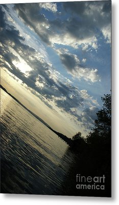 Lake Down Metal Print