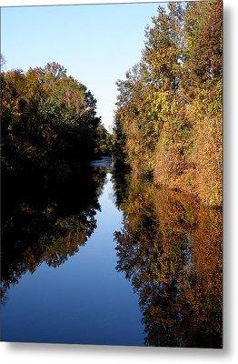 Lake Drummond Canal Metal Print by Feva  Fotos