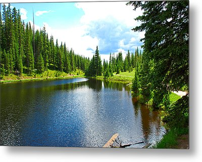 Lake Irene From The East Metal Print
