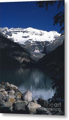 Lake Louise II Metal Print by Sharon Elliott