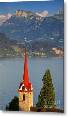 Lake Lucerne Metal Print by Brian Jannsen