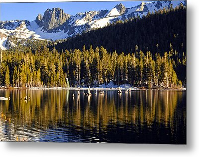 Metal Print featuring the photograph Lake Mary Reflections by Lynn Bauer