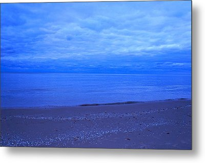 Metal Print featuring the photograph Lake Michigan by Kristine Bogdanovich