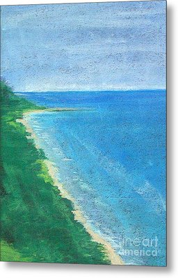 Lake Michigan Metal Print by Lisa Dionne