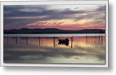 Metal Print featuring the digital art Lake Rgb 01 by Kevin Chippindall
