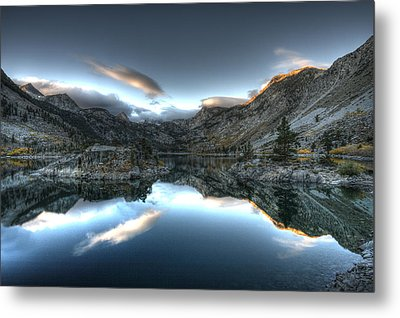 Lake Sabrina Bishop Ca Metal Print