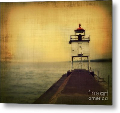 Lake Superior Classic Metal Print by Perry Webster