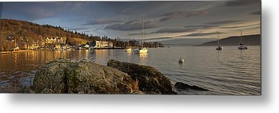 Metal Print featuring the photograph Lake Windermere Ambleside, Cumbria by John Short