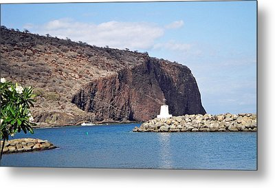 Lanai Harbor Metal Print