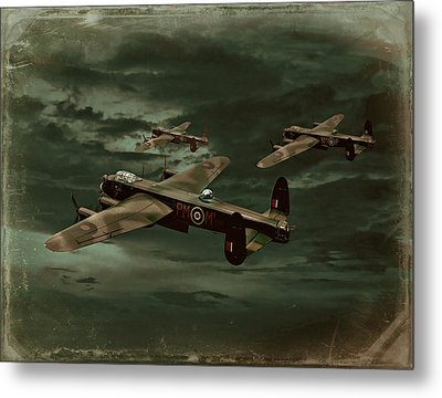 Lancaster Mission Metal Print by Steven Agius