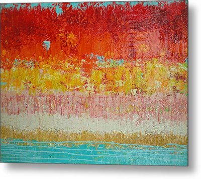 Land Of Colour 4 Metal Print