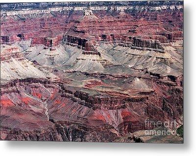 Landing In The Canyon Metal Print by John Rizzuto