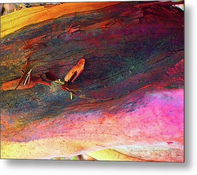 Metal Print featuring the digital art Landing by Richard Laeton