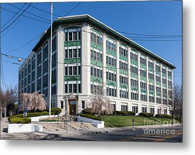 Landmark Life Savers Building I Metal Print by Clarence Holmes