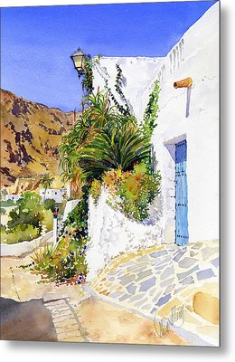 Lane In Nijar Metal Print by Margaret Merry