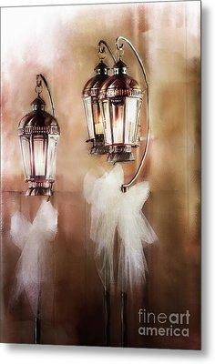 Lanterns Metal Print by Stephanie Frey