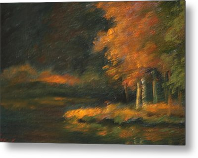 Last Light Metal Print by Linda Eades Blackburn