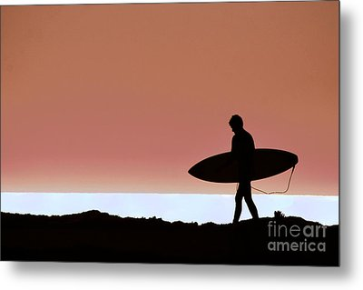 Last Wave Metal Print by David Taylor