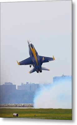 Launch Metal Print by Kevin Schrader