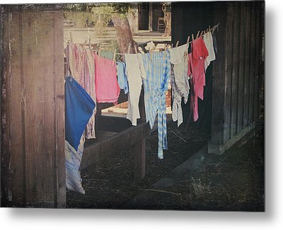 Laundry Day Metal Print by Laurie Search