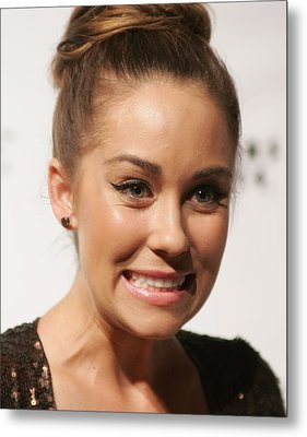 Lauren Conrad In Attendance For Lauren Metal Print by Everett