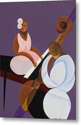 Lavender Jazz Metal Print by Kaaria Mucherera