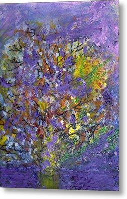 Lavender Memories Metal Print by Anne-Elizabeth Whiteway