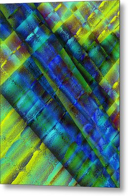Metal Print featuring the photograph Layers Of Blue by David Pantuso