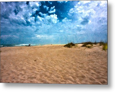 Lazy Day Metal Print by Betsy Knapp