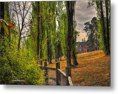 Le Chateau A Fall Day In The Nw Metal Print by Sarai Rachel