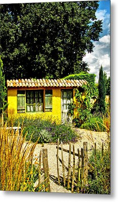 Le Jardin De Vincent Metal Print by Chris Thaxter