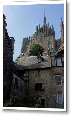 Metal Print featuring the photograph Le Mont-michel by Frank Wickham