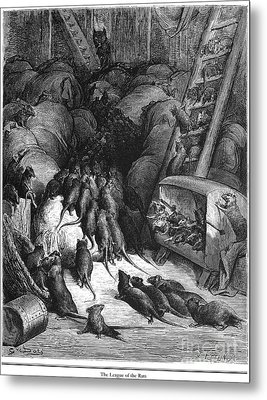 League Of Rats, 1868 Metal Print by Granger