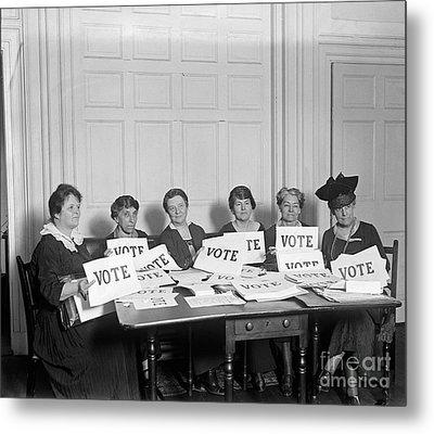 League Of Women Voters Metal Print by Granger