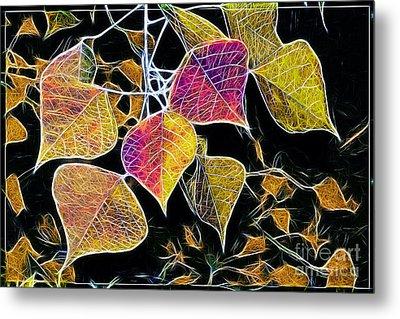 Leaves Metal Print by Judi Bagwell