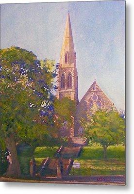 Leckie Memorial  Church  Peebles Scotland Metal Print by Richard James Digance