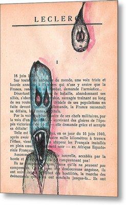 Leclerc Metal Print by Jera Sky
