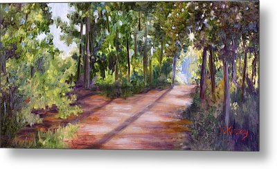 Left Or Right Metal Print by Sheila Kinsey