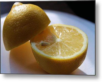 Lemon Slices Metal Print by Sarah Broadmeadow-Thomas