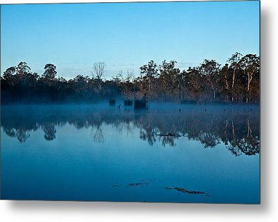 Lenthalls Dam 11 Metal Print by David Barringhaus