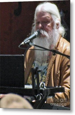 Metal Print featuring the photograph Leon Russell by Gary Brandes