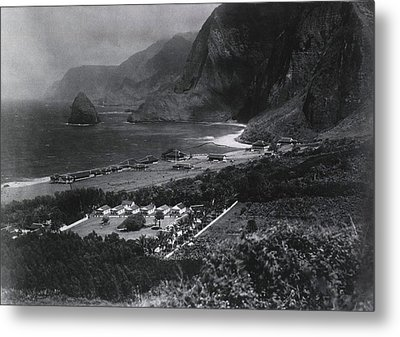 Leper Colony. The Kalawao Settlement Metal Print by Everett