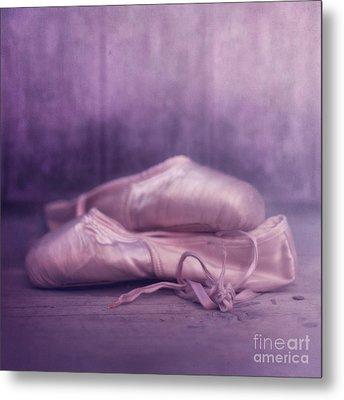 Les Chaussures De La Danseue Metal Print by Priska Wettstein