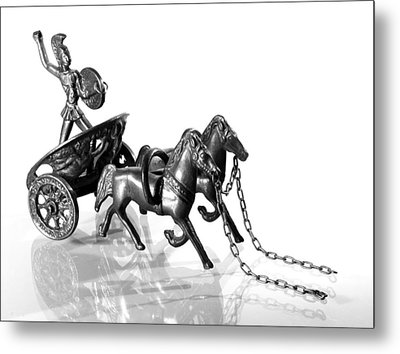 Let Go Metal Print by Andy Mulle