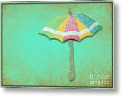 Let It Rain 1 Metal Print by Sophie Vigneault
