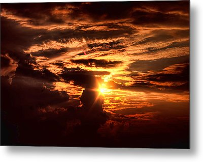 Let There Be Light Metal Print by Joetta West