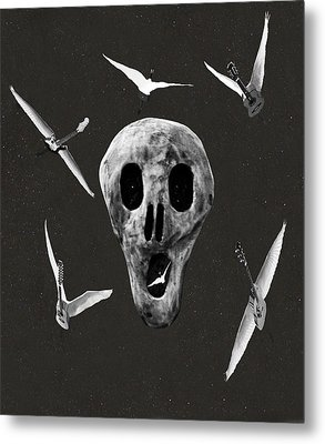Let There Be Rock Metal Print by Eric Kempson