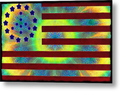 Let Your Freak Flag Fly Metal Print by Bill Cannon