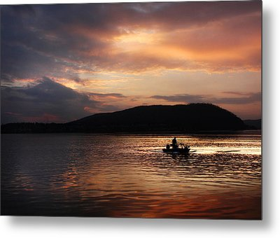 Let's Call It A Day Metal Print by Lori Deiter